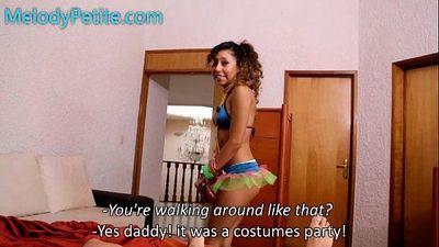 El castigo / My Daddy punishes me - 40 sec