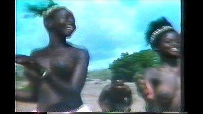 topless african dance - 2 min