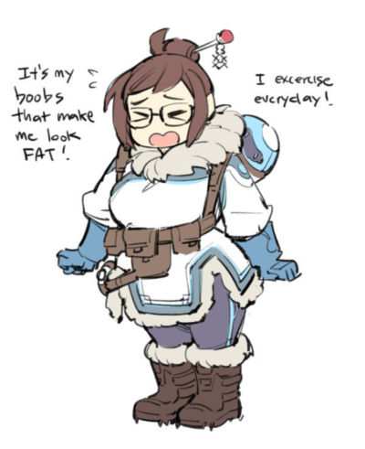 Overwatch - Mei-Ling Zhou - part 25
