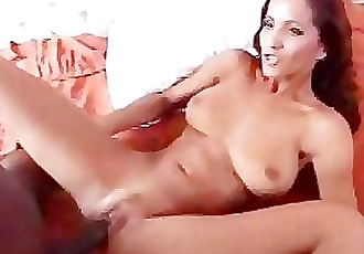 Angel likes black cock