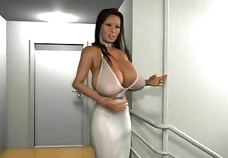 3D Babes with Huge Breasts! - 3 min