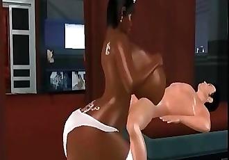 pov 3d titfucks