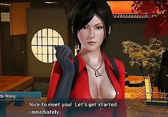 Resident Evil Ada Wong Sex Scene