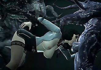 Elizabeth, Bioshock Terror in the Deep Monsters