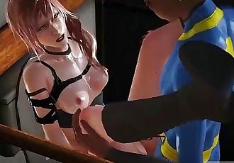 Latex suit hard missionary fuck, FINAL FANTASY, pt.1, best xxx game!