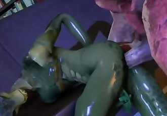 Twitchyanimations Gay 3D Monster Porn