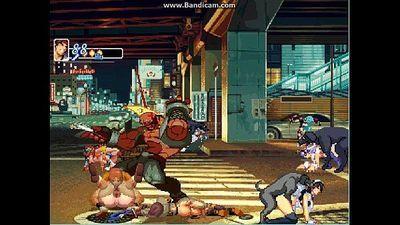 Bao & Birdie vs KOF XIII girls - 9 min