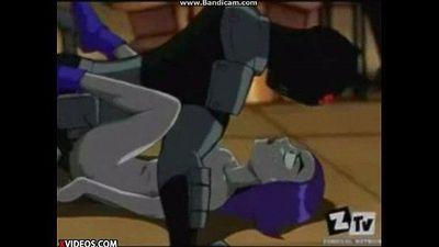 Teen Titans: Raven Fuck Full - 10 min