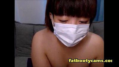 गोल-मटोल जापानी बट पर कैम - fatbootycamscom - 9 मिन