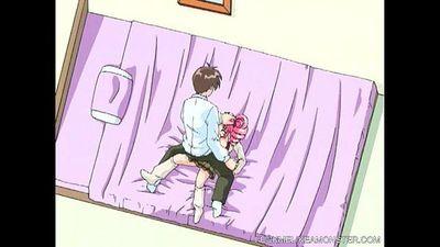 Nut Licking Anime Slut Gets Fucked - 5 min