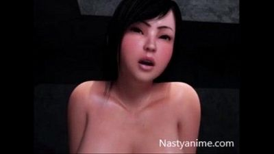 3D Big Tits Anime Girl - 24 min