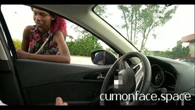 Flashing at Skinny black girl watches me: www.tsimpoukiakaigamisia.co - 2 min