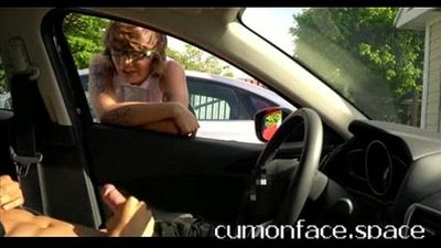 Hipster chick catches me flashing dick in parking: www.tsimpoukiakaigamisia.co - 2 min