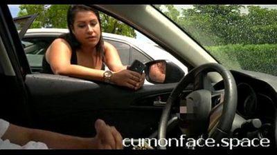 Chubby Latina watches me flash cock: www.tsimpoukiakaigamisia.co - 1 min 44 sec
