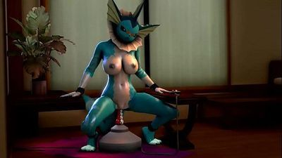 Vaporeon Orgasm - 3 min