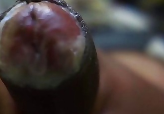 Young Black Cock Juicy Hot 8 sec
