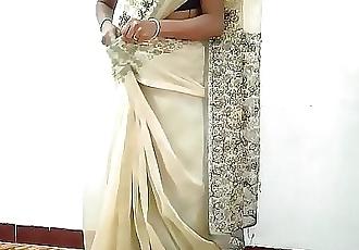 Desi village wife change saree husbands friend recording fucking with her cuckold 10 min 720p