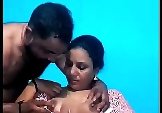 Shy village aunty got force fuck by her husband // Watch Full 16 min Video At..