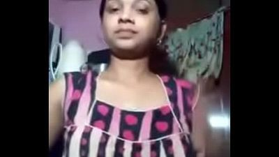 Desi Indian girl nude - 1 min 24 sec