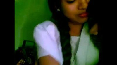 Shy indian school girl - 4 min