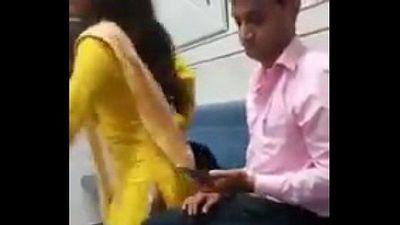 Indian couple having sex in train - 1 min 2 sec