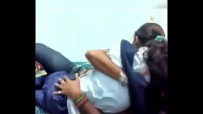 indian collage students romance in bedroom - 1 min 5 sec