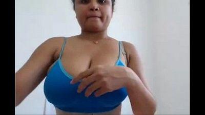 Bhopali Big Boob Indian Babe On Camera - 3 min