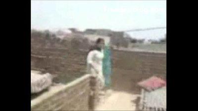 Boy Fuck His Maami On Terrace MMS SCANDAL-2 - 3 min