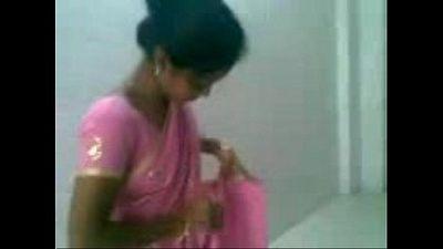 pink saree wife- - 10 min
