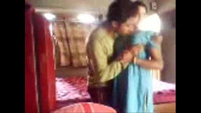 Horny Bengali wife secretly sucks and fucks in a dressed quickie, bengali audio - 4 min