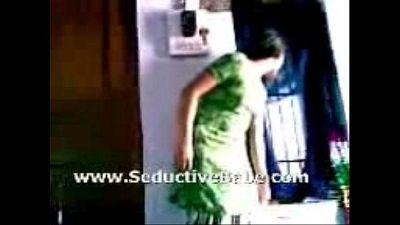Indian lovers foreplay b4 sex, have a great time - 7 min