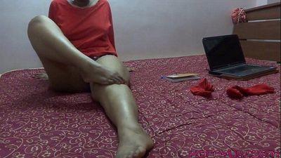 脚 恋物癖 印度 贝贝 莉莉 - 4 min hd