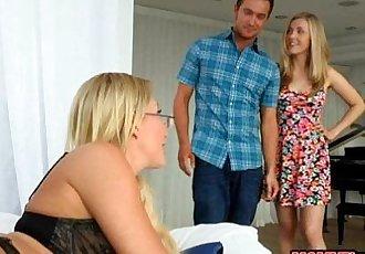 Karla Kush sharing bf with busty mature Jennifer Best