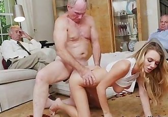 Blonde Teen Molly Mae Gets Bent Over For Money