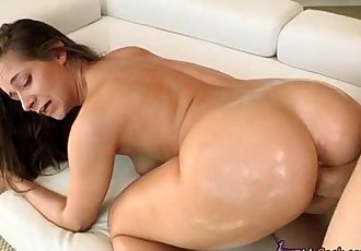 Cassidy Klein Devours Monster Cock With Her Mouth And Cunt