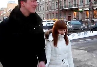 Casual Teen SexWarm sex on a cold winter dayHD