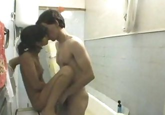 Young Teen Amateur CoupleBathroom Fuck
