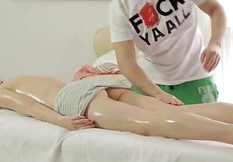 Teen Massage Turns Into Sensual SexHD