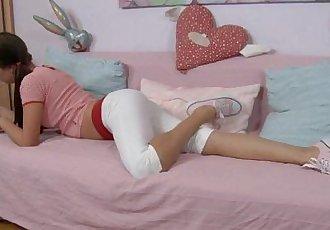 Hot sex video with a teen bombshell scene 1HD