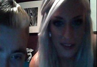 Blonde Slut Homemade Webcam Fuck