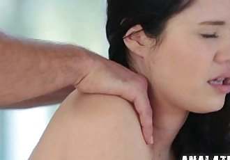 Teen gets Anal Fucked for her Bday