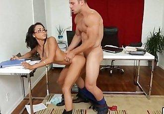 Hot Ebony Petite Babe Fucked By Teacher Gulliana AlexisHD