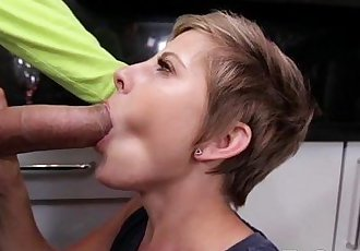 Mickey Reise Sucking and Bangs Nice Cock