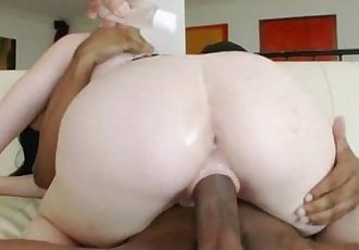 Horny Lacey Lay riding a huge cock