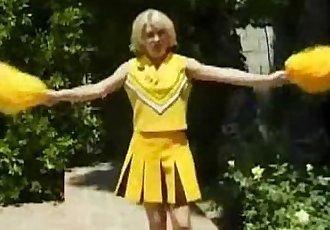 Cheerleader Sweetie Gets Laid
