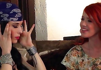 Sexy fortuneteller has sexy predictions