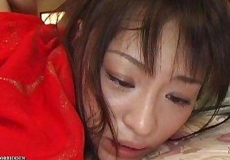 Uncensored Japanese Erotic Fetish Sex - One Girl, Two Guys (Pt. 6) - 5 min