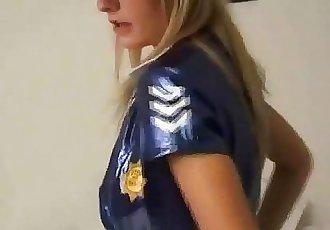 What do you think of my sexy new PVC nurse uniform - 5 min