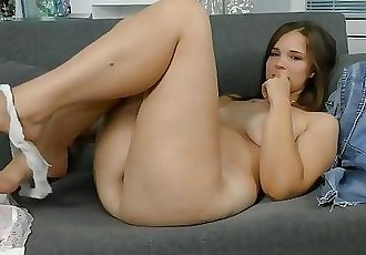 She came to virgin casting right from school! Virginity confirmation and...