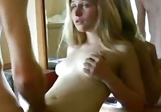 Step sister catches brother masturbating to her